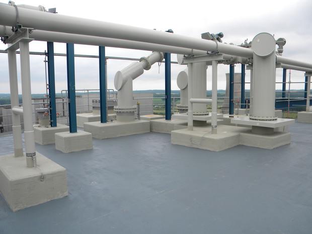 liquid pmma based plastic protects roofs. Black Bedroom Furniture Sets. Home Design Ideas