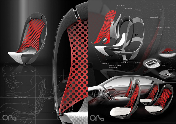 Designing Car Seats With Plastic
