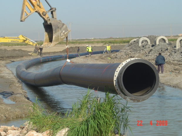 Experiences with large diameter pe pipes