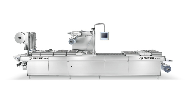 Multivac Clean Design R245 thermoforming packaging machine