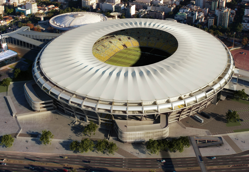 PTFE-coated glass fabric roof for the world cup