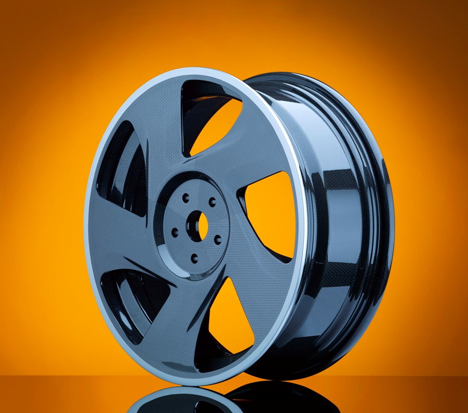 Thermoplastic carbon wheel