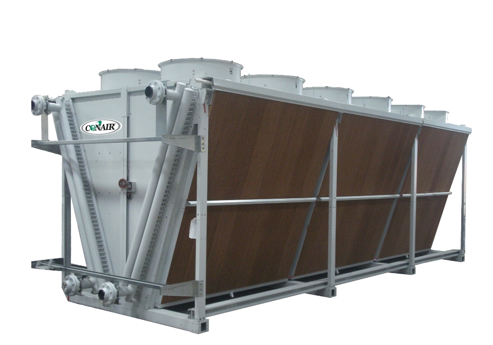 Adiabatic Fluid Cooler : Adiabatic cooling towers cut energy consumption