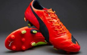 Puma's evoPOWER football boot features Pebax elastomer (picture: Puma)
