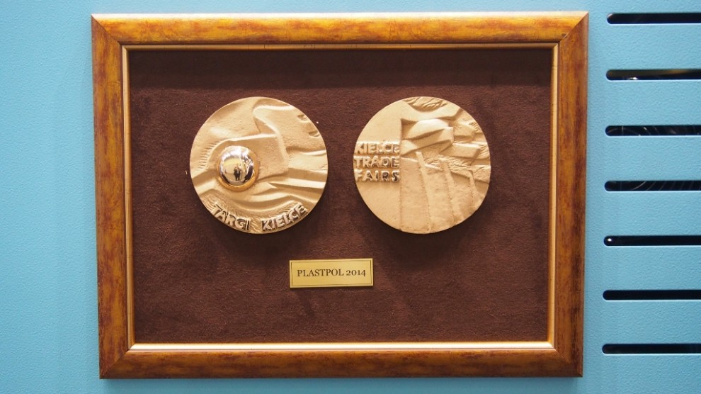 medals from the award