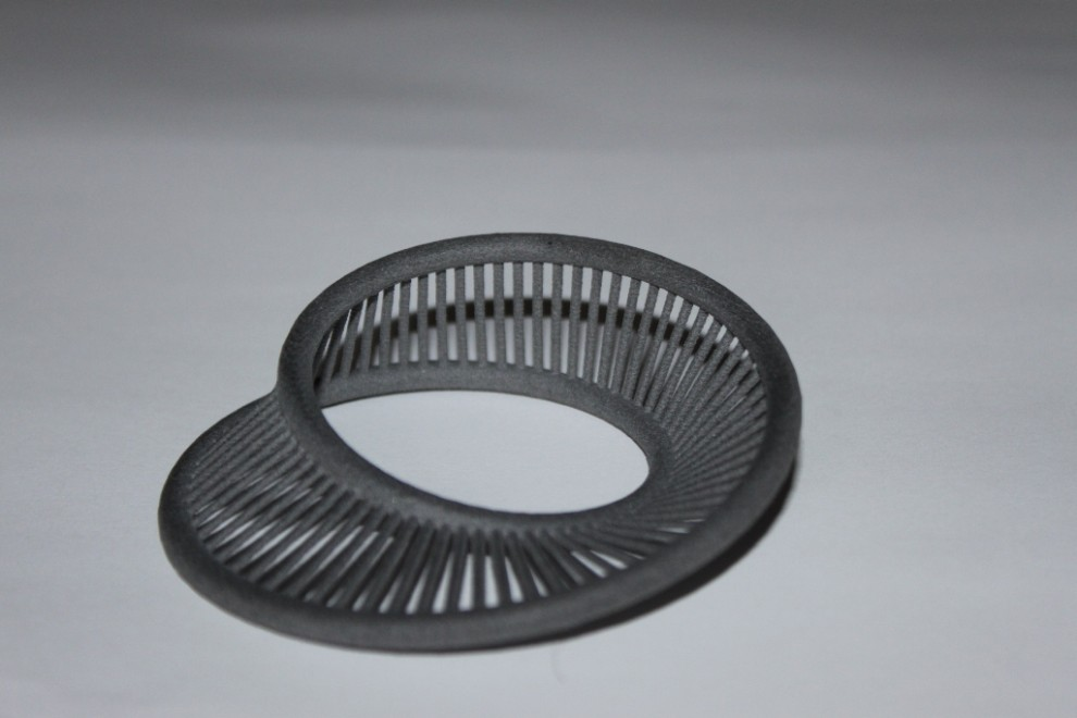 sample part with laser sintering