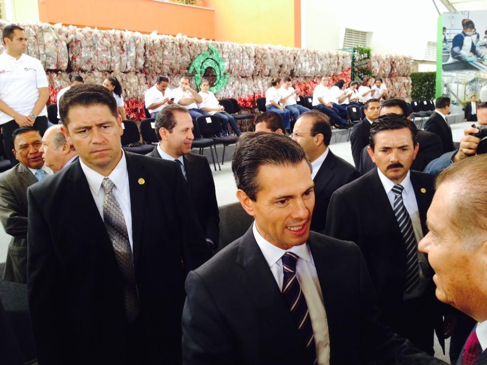President of Mexico Enrique Pe?a Nieto