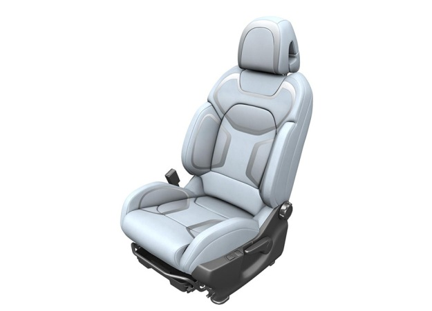 Johnson Controls is currently working on an innovative inkjet process enabling additional personalization options for seat surfaces in automotive line production (source: Johnson Controls)