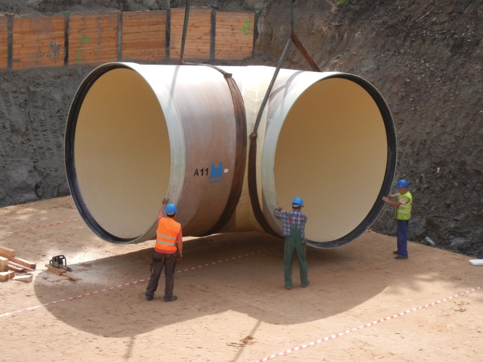 GRP Pipes DN 3600
