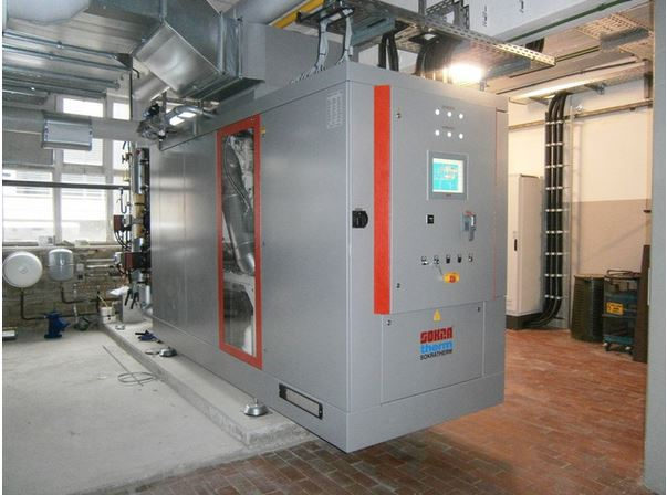 combined heat and power plant