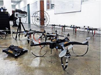 HOPE Technik's drones