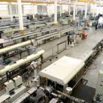 Extrusion lines for the production of HDPE pipes