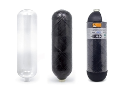 carbon fibre cylinders with PET liners