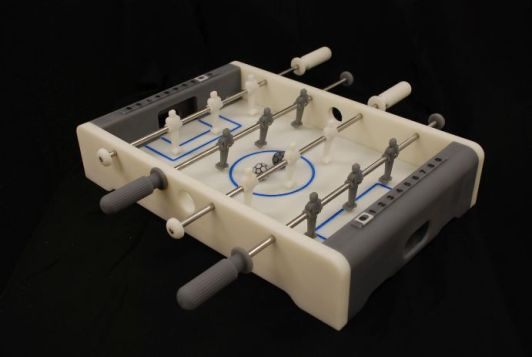 3D printed table soccer game