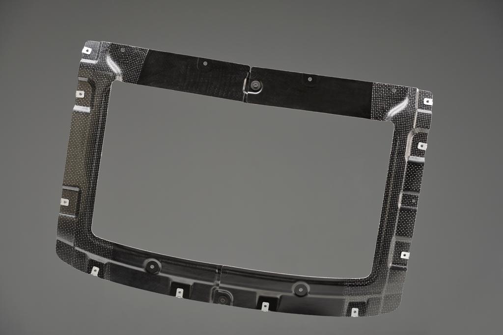 composite rear muffler cover of Lanxess