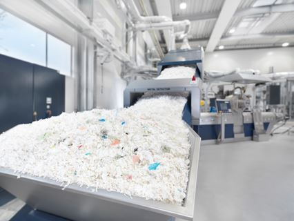 Intarema TVEplus with Laserfilter for Postconsumer Recycling (Source: Erema)