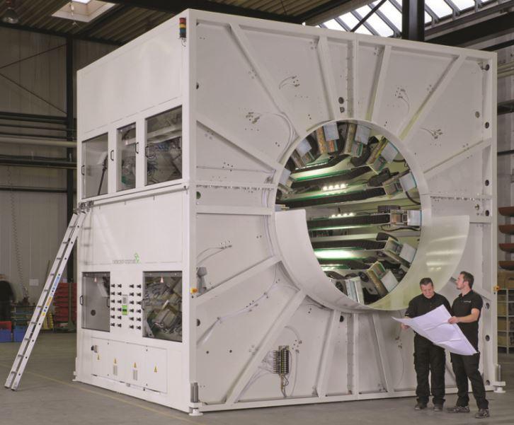 Large diameter haul-off
