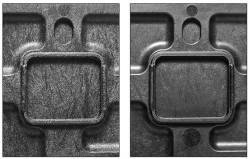 comparison of surface structures