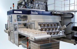 an ILLIG IC-RDML 70 automatic thermoforming machine