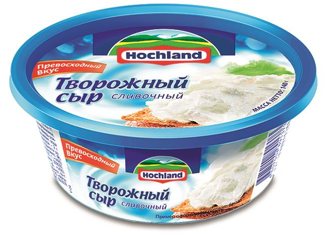 Hochland Container with IML label