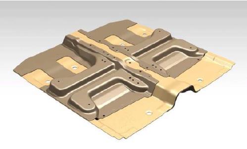 composite front module