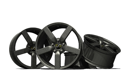 Carbon Fiber Car Wheel Weighs Only 5 2kg