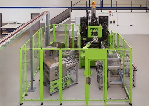 Bond-Laminates GmbH has taken into operation a demonstration cell for processing Tepex continuous-fiber-reinforced thermoplastic composite