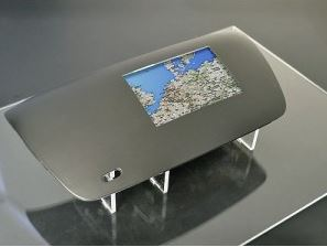 Multi-functional display with 5 finger touch realized in IML technology (source: Canatu)
