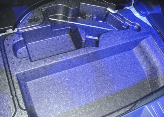 This multipurpose automotive trunk insert