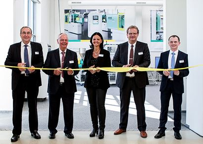 Official inauguration of Arburg