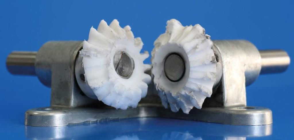 Figure 6 Bevel Gears Following Comparison Loading On Pom