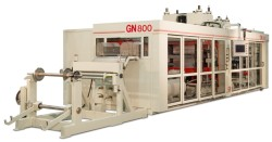 high-speed form/cut/stack thermoformer GN800