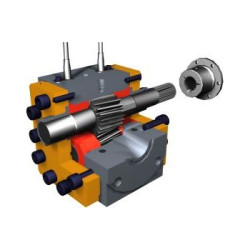 Melt-X melt pump design