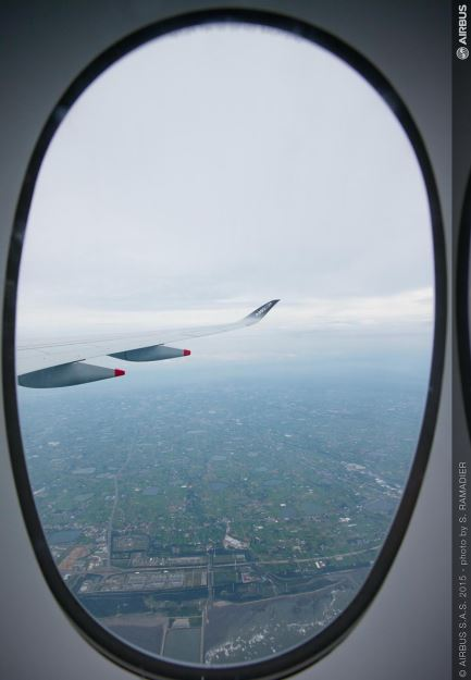 Cfrp Replaces Aluminum In Window Frames For Airbus A350