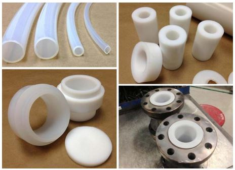 perfluoroplastics sample parts