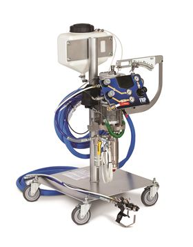 The new RS gel coat spray system of Graco