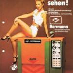 Original promotional brochure of Herrmann Ultraschall of year 1973
