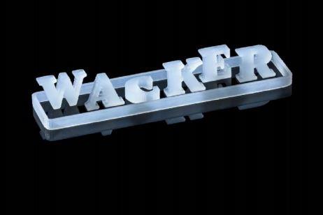 3D printed Wacker logo