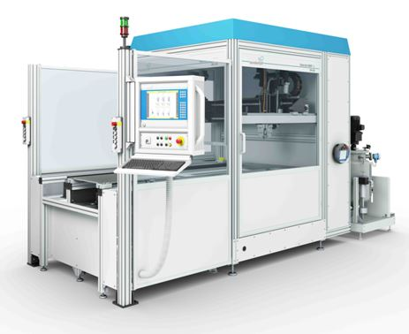 3-Component Dispensing Cell SMART-L / DM 403 with thin layer degassing