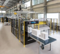 SharpFormer - Thermoforming Machine for refrigerator inner liners (source: Kiefel)