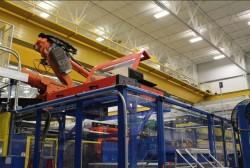2D laser system at Roechling