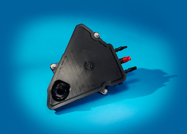 External air oil separator