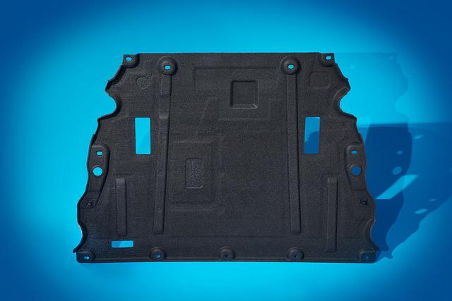 Underbody aero shields
