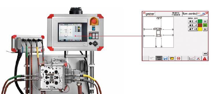 melt flow control units 'flow.control pro'