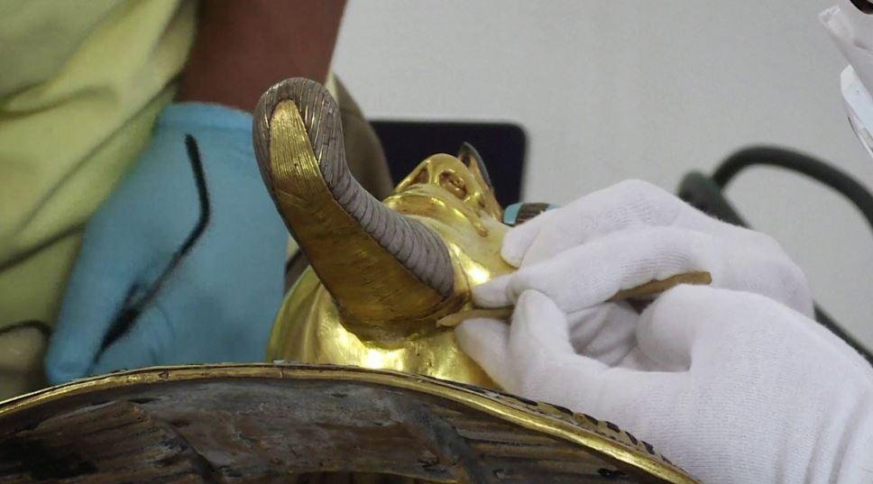 Henkel's adhesives experts help restore Tut Ankh Amun's mask