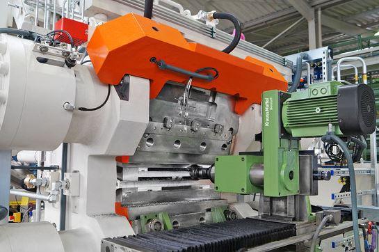 KraussMaffei Berstorff mobile milling system