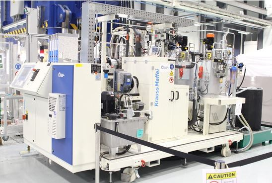KraussMaffei RimStar Compact 4/4/4 mixing and metering machine