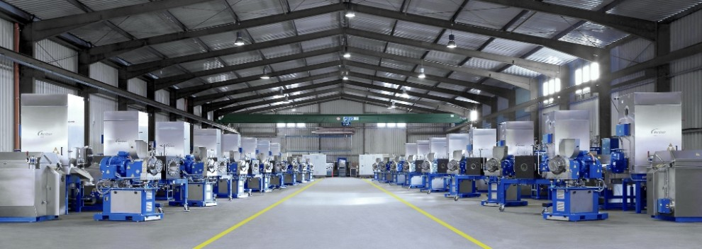 Nordson Crystalcut machines