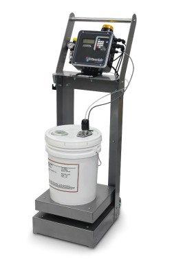 Riverdale gravimetric metering system for liquid colors