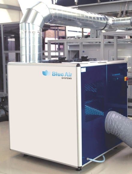 Dehumidification with the DMS unit